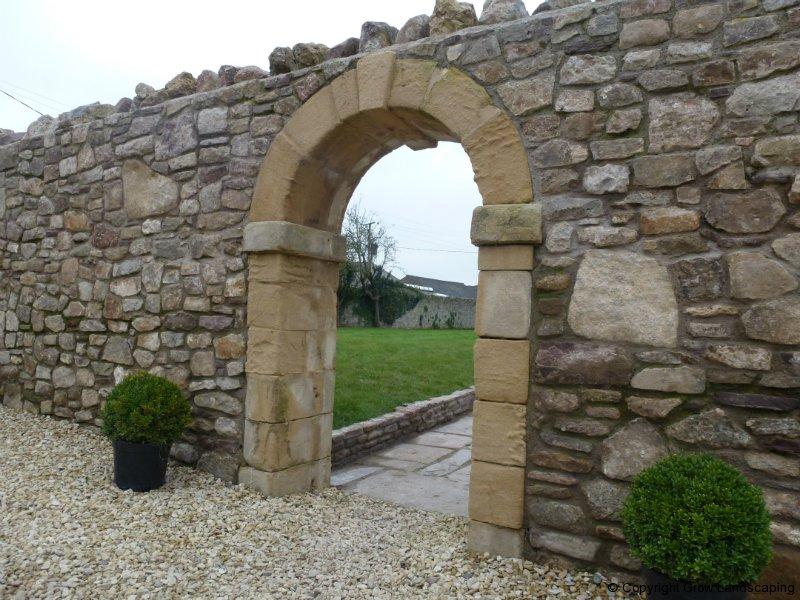 theme of the dayrandom rubble masonry retaining wall design
