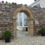 A Stone Wall for a Manor House