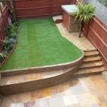 Stylish Terraced Garden